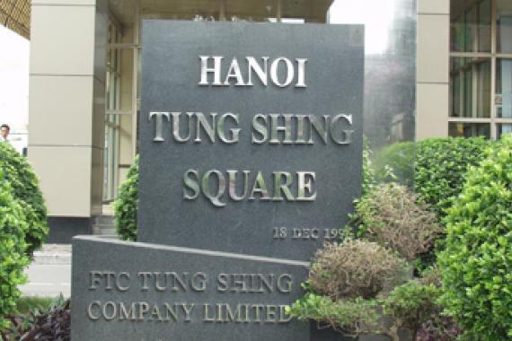 Kết quả hình ảnh cho hình ảnh tòa nhà tung shing square, hà nội